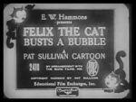 Watch Felix the Cat Busts a Bubble (Short 1926) Letmewatchthis