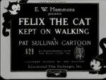 Watch Felix the Cat Kept on Walking (Short 1925) Letmewatchthis