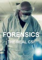 forensics: the real csi tv poster