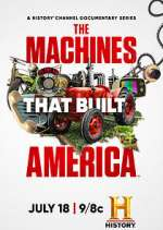 the machines that built america tv poster