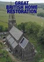 great british home restoration tv poster